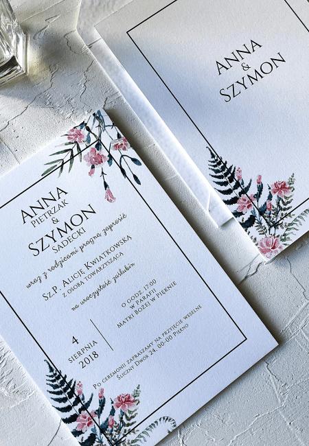 Zaproszenia_ślubne_Różowe_Goździki_Design Your Wedding_v1