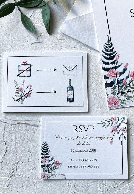 Zaproszenia_ślubne_Różowe_Goździki_Design Your Wedding_v3
