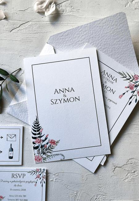 Zaproszenia_ślubne_Różowe_Goździki_Design Your Wedding_v4