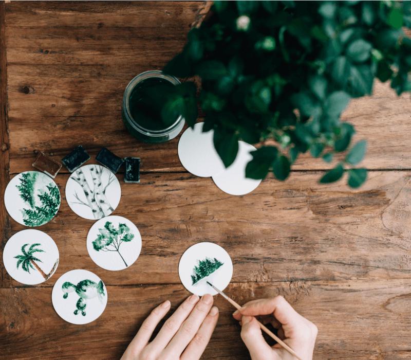 Ekologiczna papeteria ślubna - Design Your Wedding