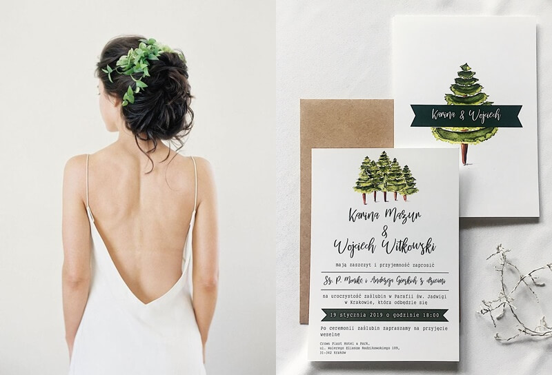 zaproszenia trees_ design your wedding