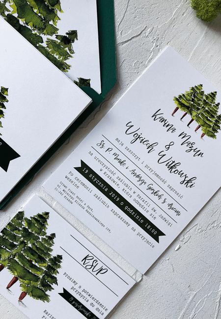 Zaproszenie_ślubne_drzewa_ Design Your Wedding_ v2