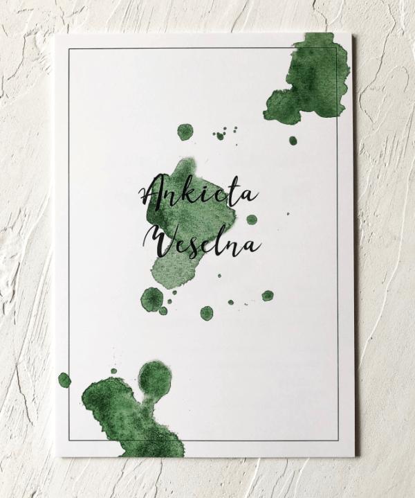 Ankieta weselna_ Design Your Wedding I Zieleń