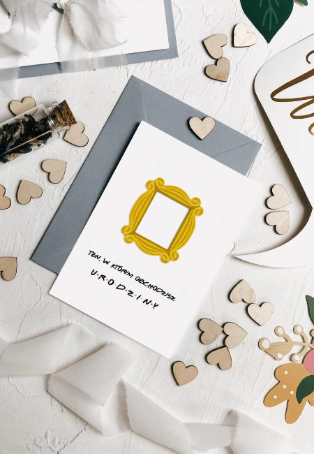 kartka na urodziny przyjaciele Design Your Wedding