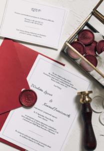 zaproszenia na ślub Classic I Design Your Wedding