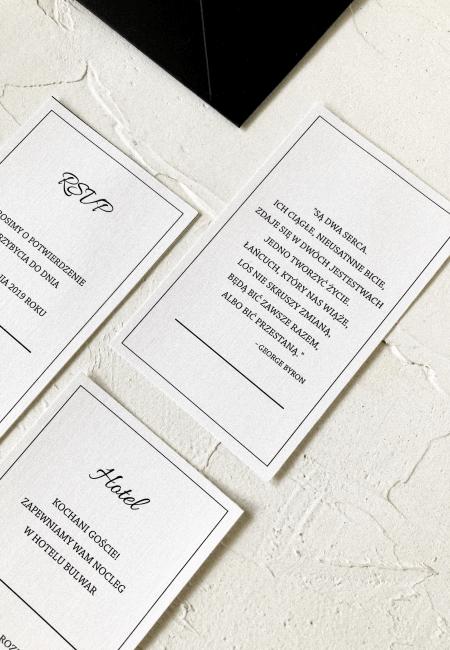 Zaproszenie na ślub _ kolekcja _ Classic I _ Design Your Wedding _ v3