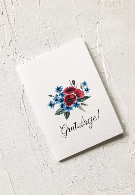 Maki _ kartka z życzeniami na ślub I Design Your Wedding _ v1