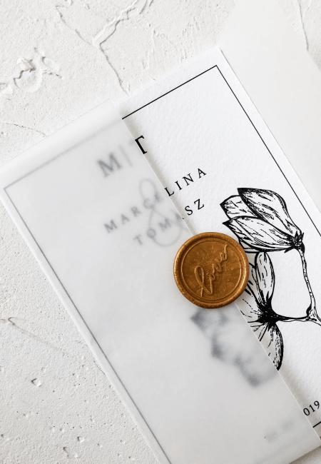 Zaproszenie na ślub _Magnolia I Design Your Wedding