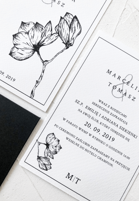 Zaproszenie na ślub _Magnolia I Design Your Wedding_ v2