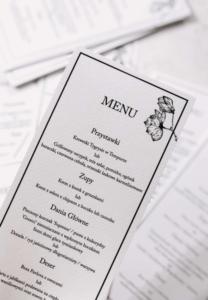menu magnolia Design Your Wedding