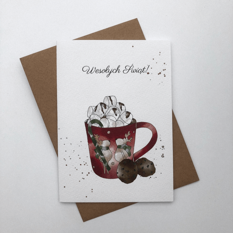 christmas mug kartka swiateczna design your wedding