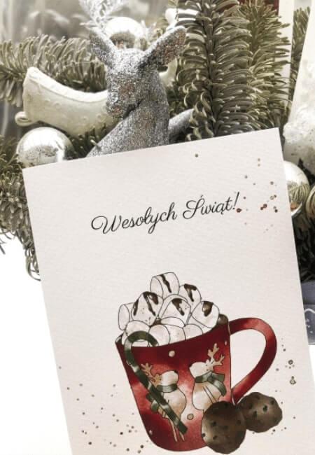 goraca czekolada - kartka swiateczna - Design Your Wedding (1)