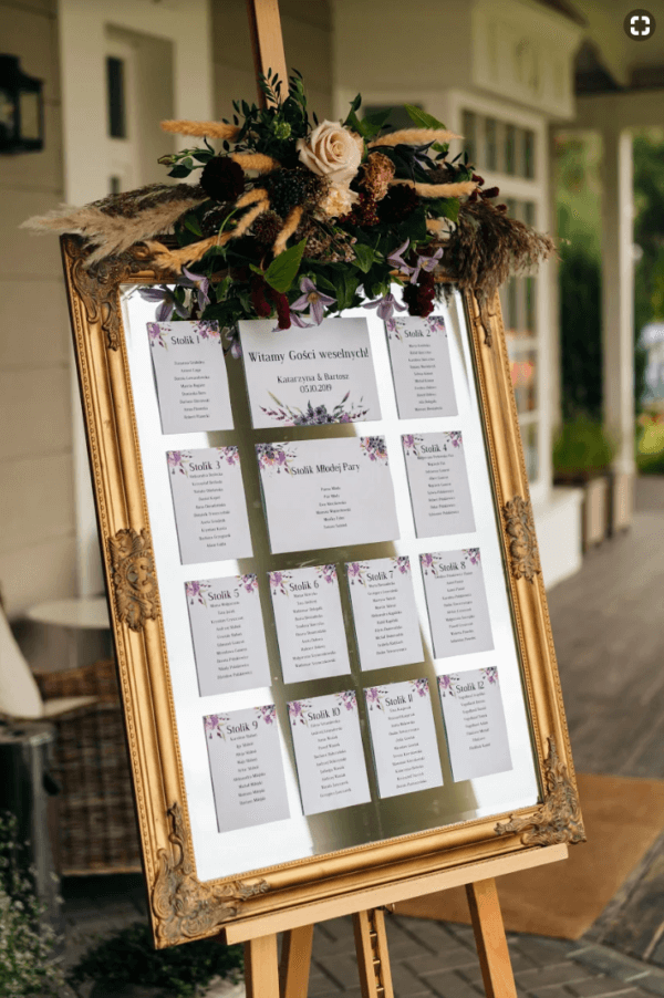 plan sali w formie kart design your wedding chabry