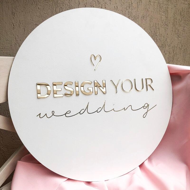 Alternatywne targi ślubne WROCŁAW Design Your Wedding LOGO