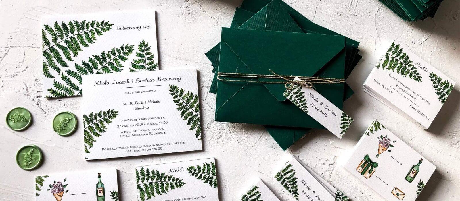 Oryginalne zaproszenia na ślub. Jak się wyróżnić? Design Your Wedding