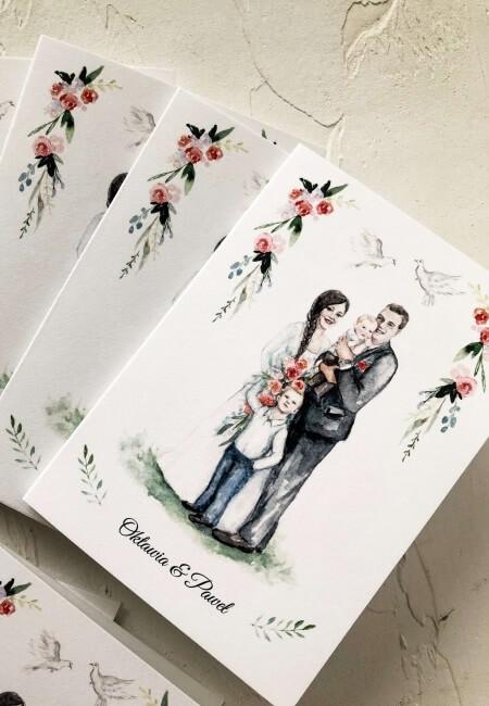 Projekt indywidualny _ portret Pary Młodej Design Your Wedding
