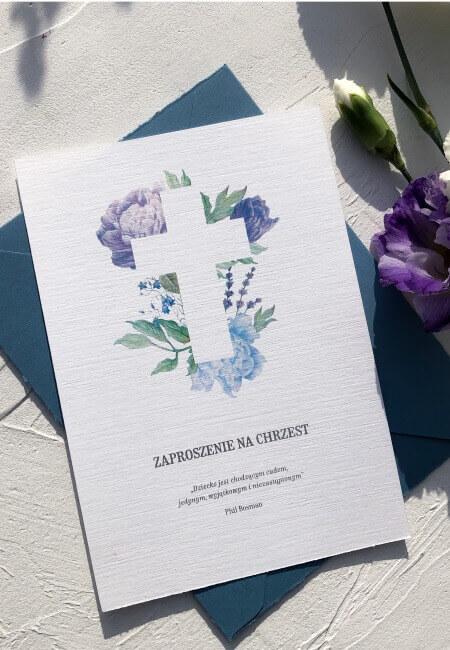 Zaproszenia na chrzest_ Wojtek _ Design Your Wedding