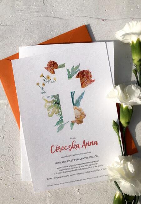 Zaproszenie na chrzest_ Anna _ Design Your Wedding