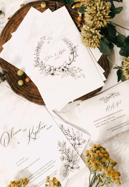 wspomnienie lata Design Your Wedding zaproszenia A6