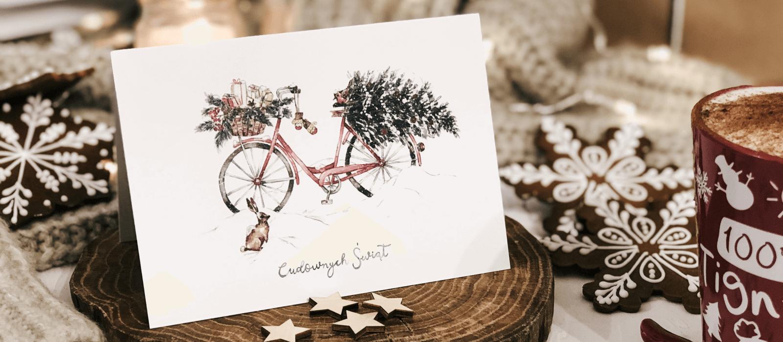 kartki świąteczne od Design Your Wedding