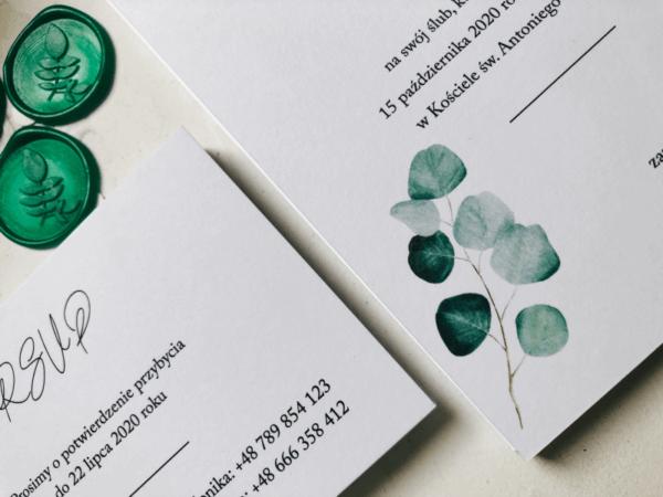 odbicia lakowe eukaliptus design your wedding