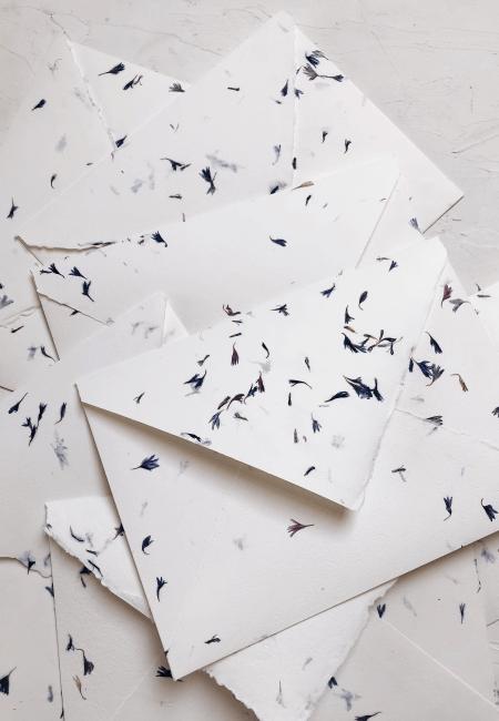 prosba o blogoslawienstwo koperty z chabrami