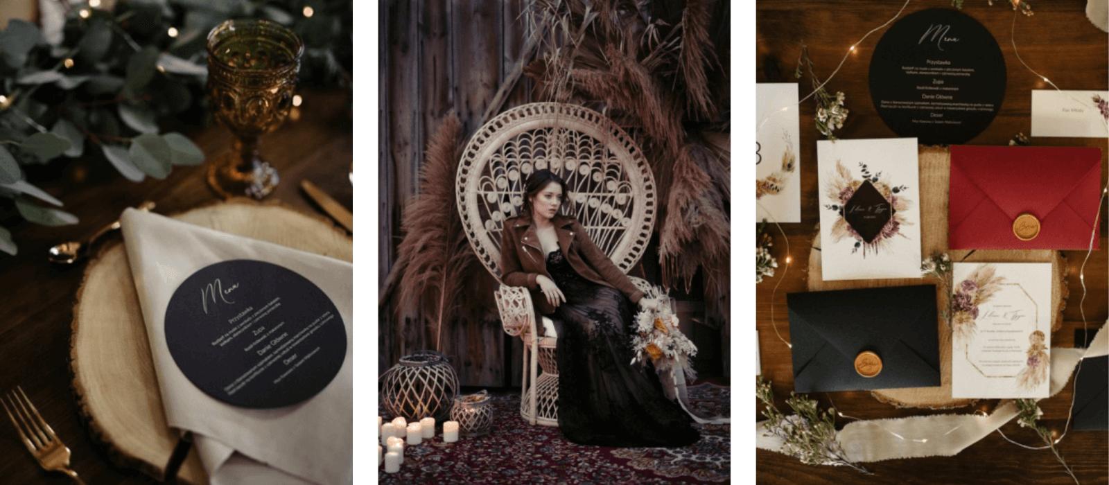 realizacje stylizowana sesja ślubna w stodole mazanówka design your wedding