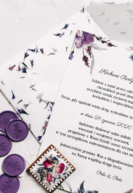 prośba o błogosłąwieństwo chabry Design Your Wedding