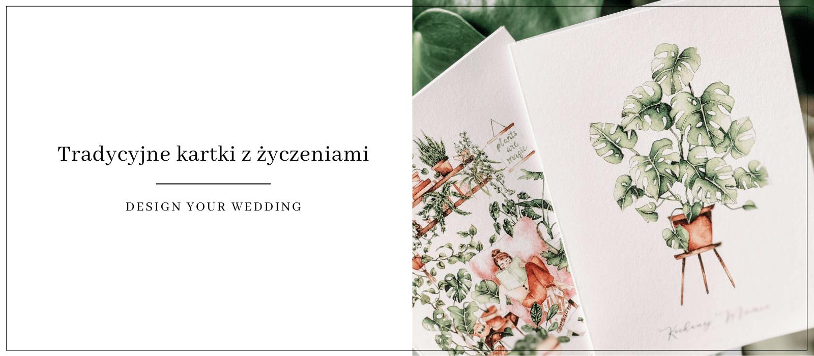 tradycyjne kartki z życzeniami design your wedding