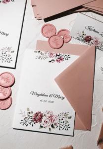 Zaproszenia na ślub Piwonia Design Your Wedding