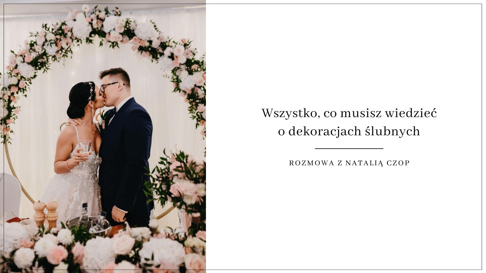 dekoracje na ślub i wesele inLove / Design Your Wedding