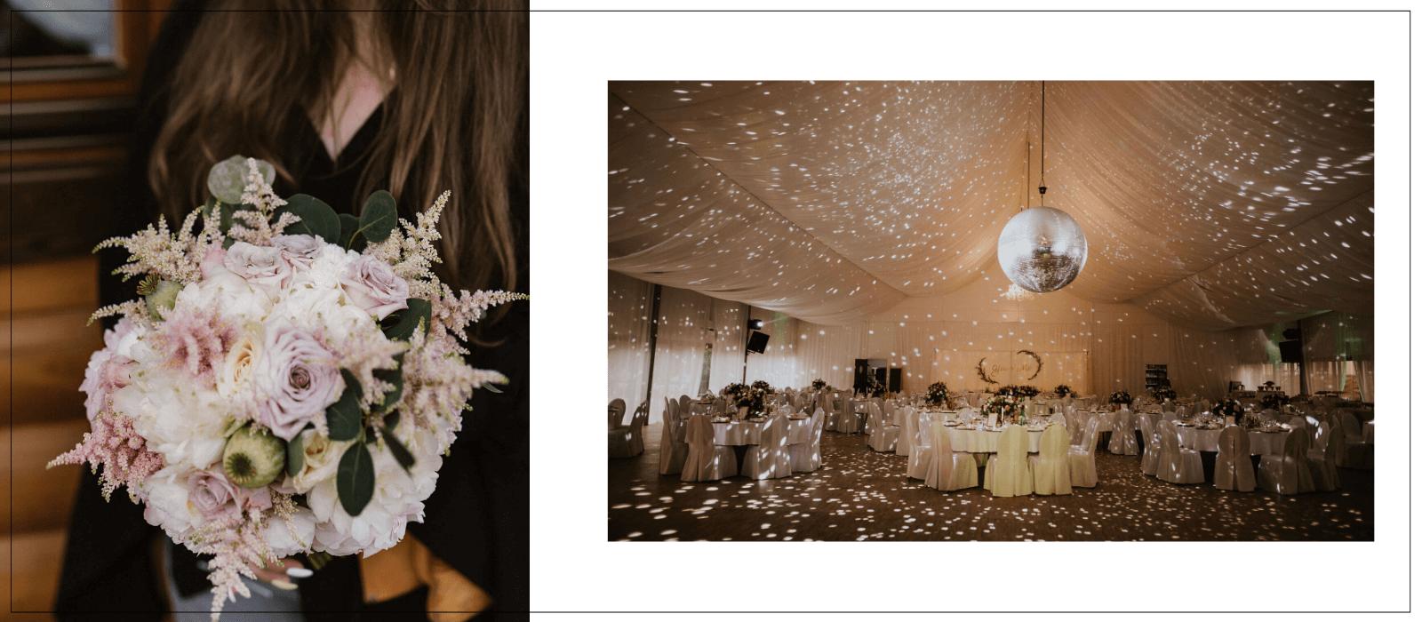 pomysł na ślubne dekoracje Natalia Czop inLove / Design Your Wedding