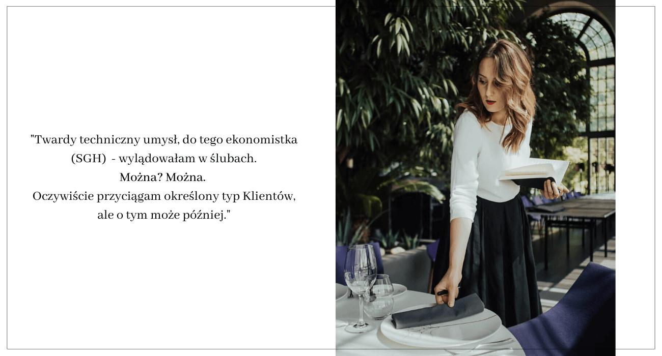 Konsultant ślubny - rozmowa z Olą Woźniak / Design Your Wedding
