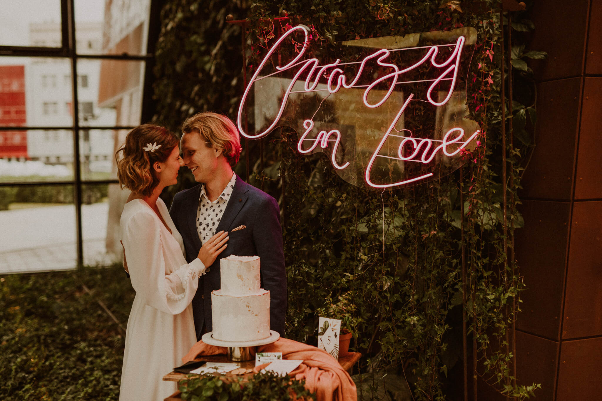 design your wedding crazy plant wedding