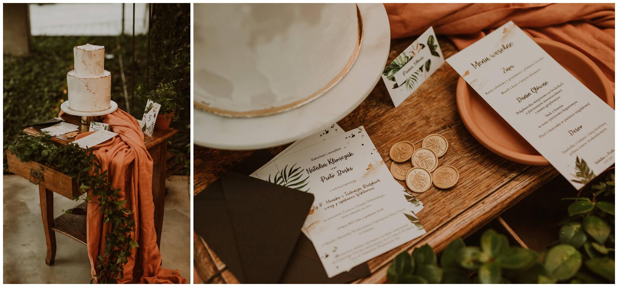 sesja stylizowana modern boho design your wedding