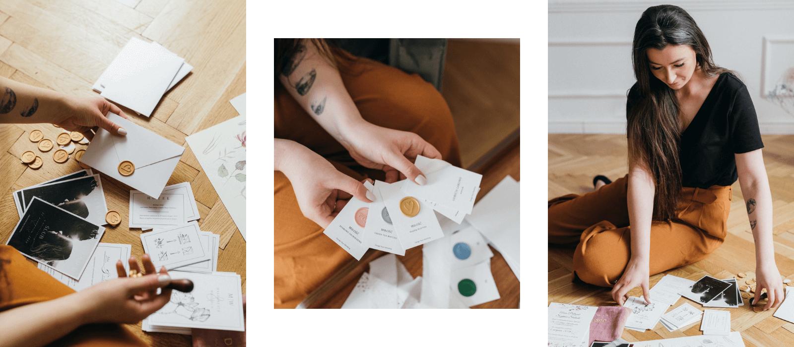 Nikoletta Design Your Wedding zaproszenia ślubne dodatki weselne ekologiczne zaproszenia