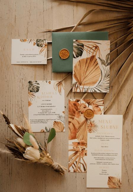 Zaproszenia ślubne SOFT BOHO / Design Your Wedding