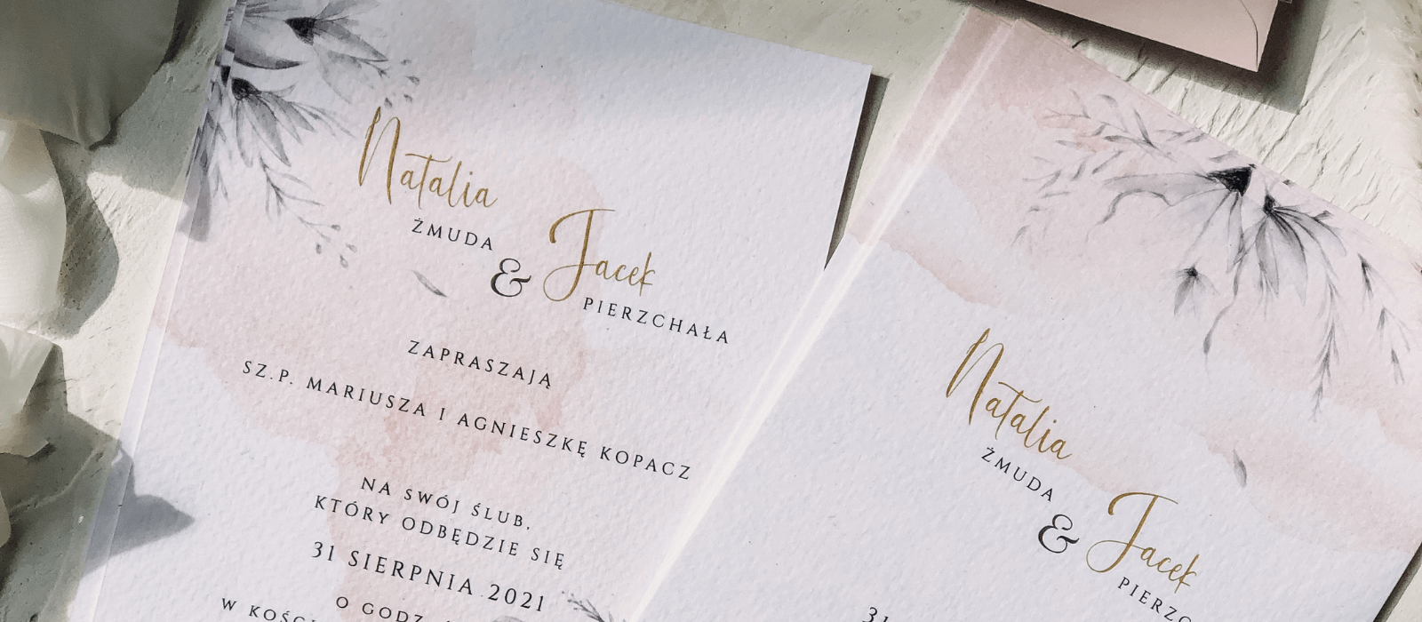 Próbki zaproszeń ślubnych _ Design Your Wedding (1)
