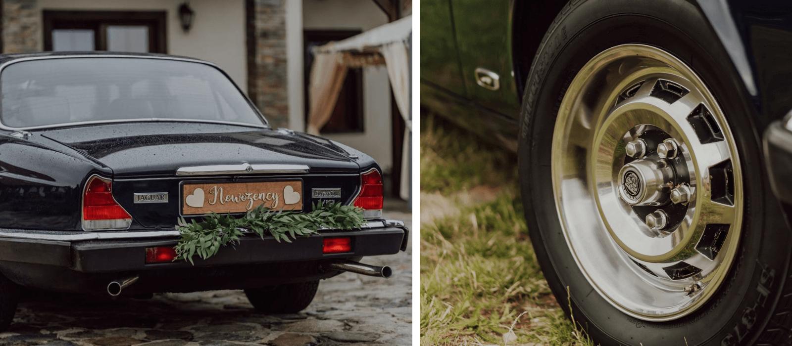 Auto do ślubu JAGUAR XJ12 z 1989 r. Design Your Wedding (1)