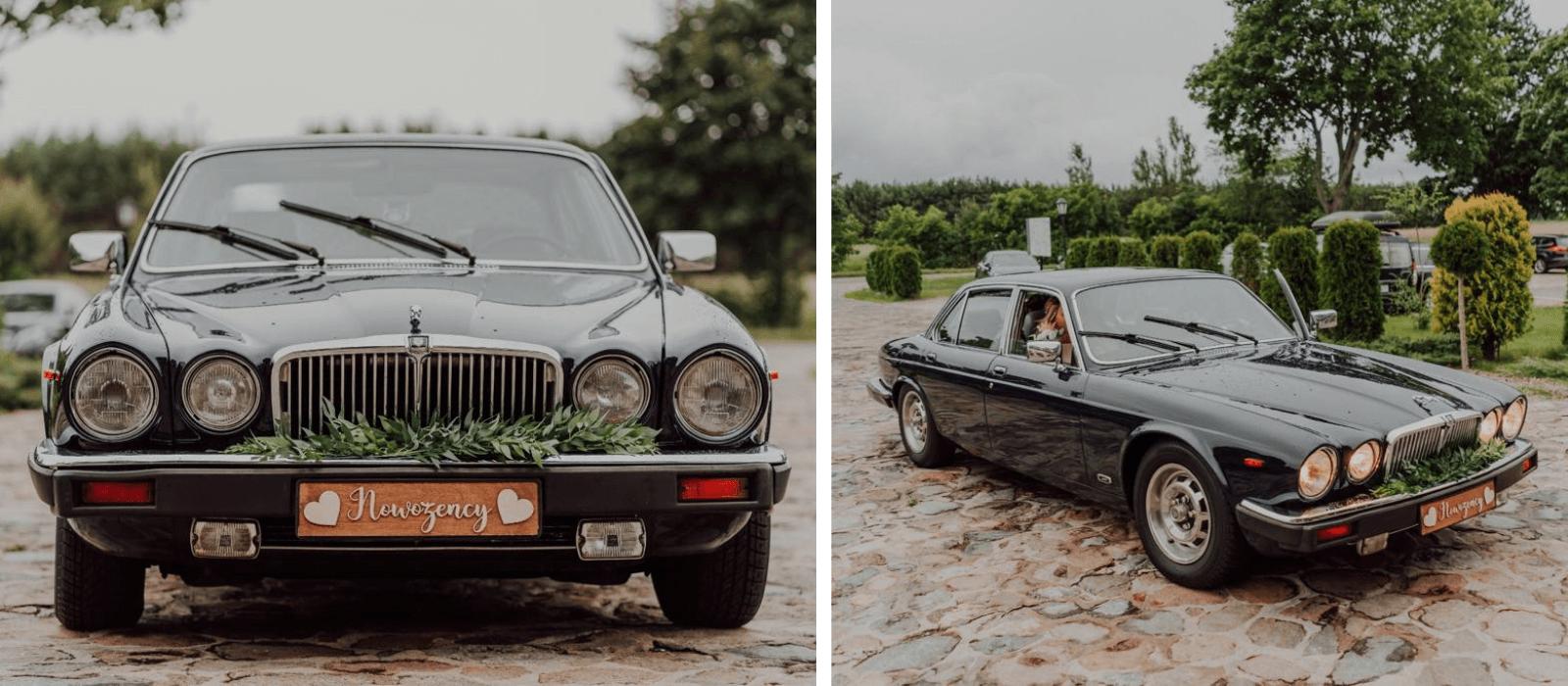 Auto do ślubu JAGUAR XJ12 z 1989 r. Design Your Wedding