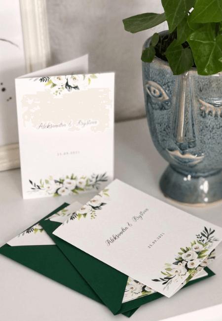 Białe kwiaty Design Your Wedding