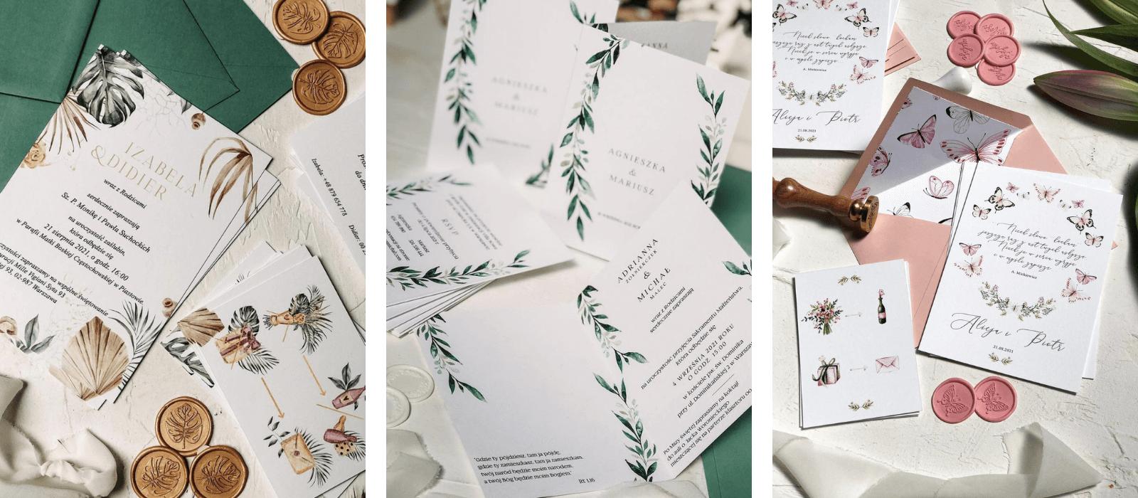 Jak zamawiać zaproszenia ślubne Design Your Wedding
